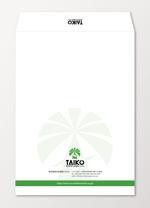 sync_designさんの会社で使用する封筒のデザインへの提案