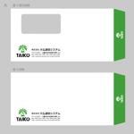 morris_designさんの会社で使用する封筒のデザインへの提案