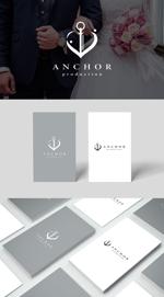 Karma_228さんの映像制作会社 『ANCHOR production』のロゴへの提案