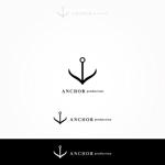FUKUさんの映像制作会社 『ANCHOR production』のロゴへの提案