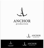 kR-designさんの映像制作会社 『ANCHOR production』のロゴへの提案