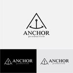 drkigawaさんの映像制作会社 『ANCHOR production』のロゴへの提案