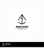 enj19さんの映像制作会社 『ANCHOR production』のロゴへの提案