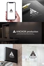hi06さんの映像制作会社 『ANCHOR production』のロゴへの提案