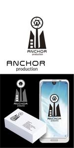 toriyabeさんの映像制作会社 『ANCHOR production』のロゴへの提案