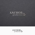 fujiseyooさんの映像制作会社 『ANCHOR production』のロゴへの提案
