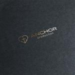 DeeDeeGraphicsさんの映像制作会社 『ANCHOR production』のロゴへの提案
