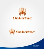 investさんの建設会社のロゴ(ワードロゴと蜘蛛をモチーフにしたロゴ)への提案