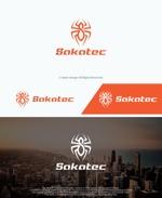 take5-designさんの建設会社のロゴ(ワードロゴと蜘蛛をモチーフにしたロゴ)への提案
