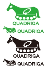 kazueetさんの「QUADRIGA」のロゴ作成への提案