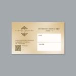 yukaOtaさんのリラクゼーションサロン「kimochidokoro premium」お客様紹介カードのデザイン作成依頼への提案