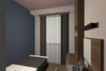 ビジネスホテル 客室のイメージパースへの提案
