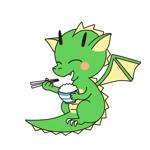 かわいいドラゴンのイラスト(ロゴマーク)への提案