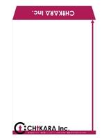 namicさんの急募:コンサルティング会社の封筒のデザインへの提案