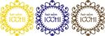 Bertheさんの「hair salon ICCHI」のロゴ作成への提案