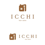 koshi_dさんの「hair salon ICCHI」のロゴ作成への提案
