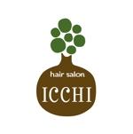 yamahiroさんの「hair salon ICCHI」のロゴ作成への提案