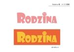 saico-kさんのスナック 「Rodzina」のロゴへの提案