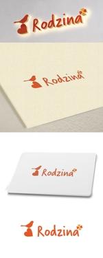 cozzyさんのスナック 「Rodzina」のロゴへの提案