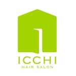 kanzaki_designさんの「hair salon ICCHI」のロゴ作成への提案