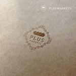doremidesignさんのパン屋事業 屋号「Plus Markets」のロゴ作成への提案