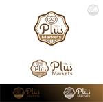 ys-design_2017さんのパン屋事業 屋号「Plus Markets」のロゴ作成への提案