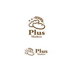 VEROさんのパン屋事業 屋号「Plus Markets」のロゴ作成への提案