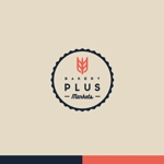 mtdesignさんのパン屋事業 屋号「Plus Markets」のロゴ作成への提案