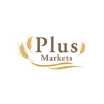 merazoooさんのパン屋事業 屋号「Plus Markets」のロゴ作成への提案