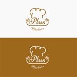 landscapeさんのパン屋事業 屋号「Plus Markets」のロゴ作成への提案