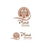 saki8さんのパン屋事業 屋号「Plus Markets」のロゴ作成への提案