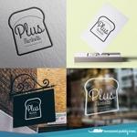 nekosuさんのパン屋事業 屋号「Plus Markets」のロゴ作成への提案