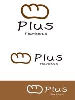dd51さんのパン屋事業 屋号「Plus Markets」のロゴ作成への提案