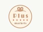 marukomeseiさんのパン屋事業 屋号「Plus Markets」のロゴ作成への提案