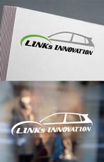 bracafeincさんの新車中古車販売店 LINKs INNOVATION のロゴへの提案