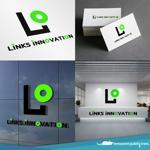 nekosuさんの新車中古車販売店 LINKs INNOVATION のロゴへの提案