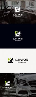tanaka10さんの新車中古車販売店 LINKs INNOVATION のロゴへの提案