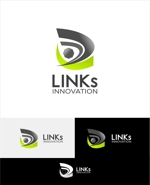 Suisuiさんの新車中古車販売店 LINKs INNOVATION のロゴへの提案