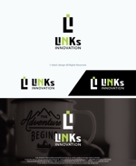 take5-designさんの新車中古車販売店 LINKs INNOVATION のロゴへの提案