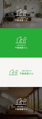 tanaka10さんの不動産ウエブサイトのロゴ制作への提案