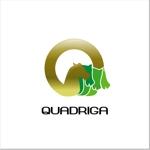 aluntryさんの「QUADRIGA」のロゴ作成への提案