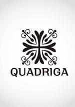 uejiさんの「QUADRIGA」のロゴ作成への提案