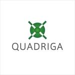 samasaさんの「QUADRIGA」のロゴ作成への提案