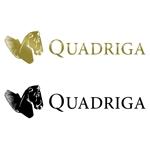 h_y_0816さんの「QUADRIGA」のロゴ作成への提案