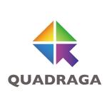 mannakadesignさんの「QUADRIGA」のロゴ作成への提案