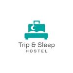 名古屋・大須に新しくOPENするゲストハウス「Trip & Sleep Hostel」のロゴ(商標登録予定なし)への提案