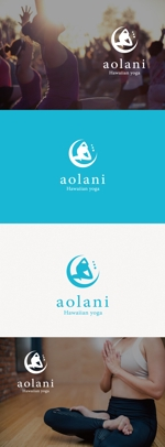 tanaka10さんのヨガスクールのロゴへの提案