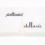 enj19さんの女性向け美容サロン「stellavie」のロゴへの提案