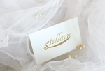 bizutartさんの女性向け美容サロン「stellavie」のロゴへの提案