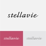 drkigawaさんの女性向け美容サロン「stellavie」のロゴへの提案